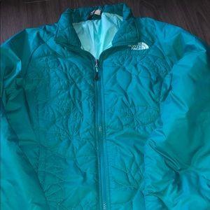 Teal Lightweight North Face Jacket